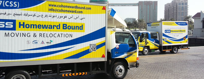 International Moving Company in Dubai